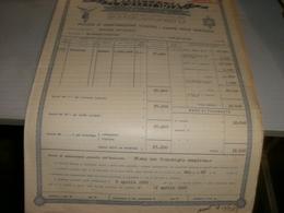 POLIZZA DI ASSICURAZIONE CONTRO I DANNI DELLA GRANDINE-VITTORIA ASSICURAZIONE 1962 - Banque & Assurance