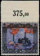 ** SARRE - Poste - 68, Bdf: 25mk. Bleu - Saargebiet