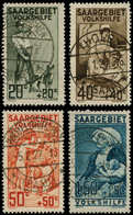 O SARRE - Poste - 103/6, Bienfaisance 1926 - Saargebiet