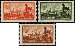 * SARRE - Poste - 162/64, Exposition Neunkirchen - Saargebiet