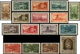 ** SARRE - Poste - 173/88, Complet 16 Valeurs: Volksabstimmung - Saargebiet