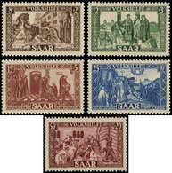 ** SARRE - Poste - 278/82, Bienfaisance 1950 - Saargebiet