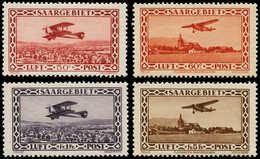 ** SARRE - Poste Aérienne - 1/4, Luxes: Avions 1928/32 - Saargebiet