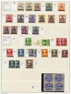 SARRE - Lots & Collections - Sarre + Memel + Zone Française, Petite Collection En Un Album Leuchtturm, Nombreuses Séries - Saargebiet