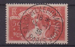 FRANCE : N° 308 . OBL . TB . 1935 .  ( CATALOGUE YVERT ) . - Marcofilia (Sellos Separados)