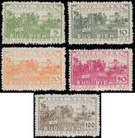 (*) VIETNAM DU NORD - Poste - 81/85, Complet: Réforme Agraire - Vietnam