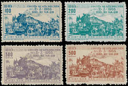 (*) VIETNAM DU NORD - Poste - 89/92, Complet: Chemins De Fer Hanoï - Yunan - Vietnam