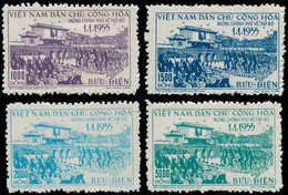 (*) VIETNAM DU NORD - Poste - 93/96, Complet: Gouvernement à Hanoï - Vietnam