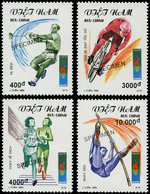 """** VIETNAM SOCIALISTE - Poste - 1539/42, Surchargés """"spécimen"""": Jeux Olympiques D'Atlanta 96 - Vietnam"""