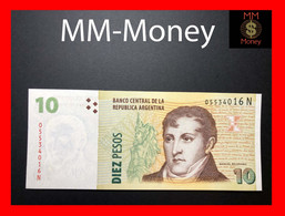 ARGENTINA 10 Pesos 2010 P. 354 Serie N  UNC - Argentine