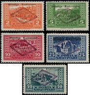 * ALBANIE - Poste - 130/34, Assemblée Nationale (Michel 90/4) - Albanien