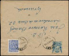 LET ESPAGNE GUERRE CIVILE NATION - Poste - Granada Ed 207 + 36 Sur Enveloppe 24/4/38 - Vignette Della Guerra Civile