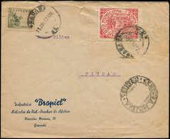 LET ESPAGNE GUERRE CIVILE NATION - Poste - Granada Ed. 211, Sur Enveloppe 13/7/37: 10c. Rouge - Vignette Della Guerra Civile