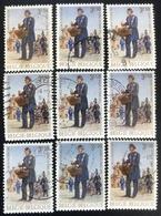 België - Belgique - (o)used - Ref B1/2 - 1971 - Michel Nr.1631 - Dag Van De Postzegel - Timbres