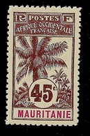 MAURITANIE YT 11 NEUF SANS CHARNIERE TB DENTELE 11 - Unused Stamps