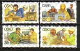 Ciskei - 1985 Small Businesses Set (**) # SG 77-80 - Ciskei
