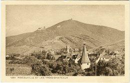 CPA 68 - Ribeauvillé Et Les Trois Châteaux N°1284 - Ribeauvillé
