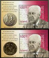 ** ISLANDE - Blocs Feuillets - 30/31, Haldor Kiljan Laxness - Islande