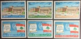 Lebanon 1967 San Francisco Pact MNH - Libano
