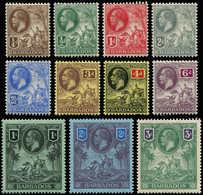 * BARBADE - Poste - 92/102, Complet 12 Valeurs: George V (SG 170/80) - Barbados (1966-...)