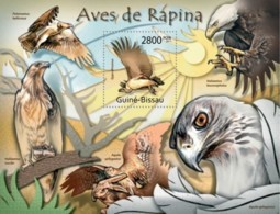 Guinea-Bissau, 2011. [gb11726] Birds Of Prey (s\s) - Aigles & Rapaces Diurnes
