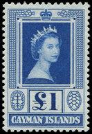 ** CAIMANES - Poste - 154, 1£ Bleu - Cayman Islands
