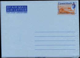 N CAIMANES - Entiers Postaux - Wiegand 10, Aérogramme, Couleur Orange Très Déplacé: 15c. Murex Coquillage - Iles Caïmans