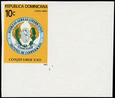 ** DOMINICAINE - Poste Aérienne - 406, Non Dentelé Cdf (tirage 200): Forces Aériennes - República Dominicana