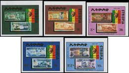 ** ETHIOPIE - Poste - 1230/34, Non Dentelés (tirage 150): Billets De Banque - Ethiopia