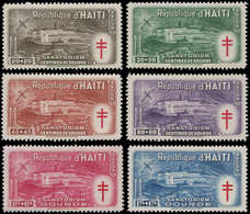 * HAITI - Poste Aérienne - 47/52, Sanatorium Contre Le Paludisme - Haití