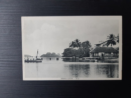 Sierra Leone - River - Undivided Rear - Sierra Leona