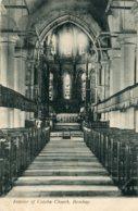 INDIA -  Interior Of Colaba Church BOMBAY 1908 - VG Postmarks Etc - Inde