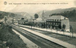 BELGIUM - Anseremme -  Vue Panoramique Sue Le Village Et Le Chemin De Fer Vers Dinant - Railway - Dinant