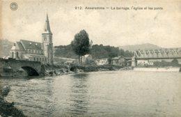 BELGIUM - Anseremme - Le Barrage L'englise Et Les Ponts - Dinant