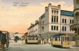 FINLAND - Turku - Aura Katu - Good Trams Etc - Finnland