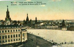 RUSSIA - Moscou - Moscow - Vue Generale De Moscou Prise Du Kremlin - Russie