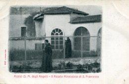 ITALY - Assis (S M Degli Angeli) II Roseto Miracoloso Di S. Francessco - Unused Undivided Rear - Italia