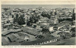 TANZANIA - Picturessque View Showing Bet-el-Ajaib Zanzibar -RPPC - Tanzanía