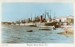 KENYA - Kilindini Deep Water Pier (Mombassa) - Superb Shipping Postcard - RPPC - Kenya