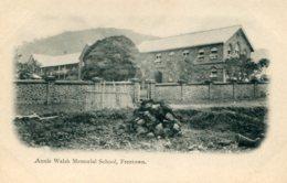 SIERRA LEONE -Annie Walsh Memoral School FREETOWNN - Used Undivided Rear - Sierra Leona