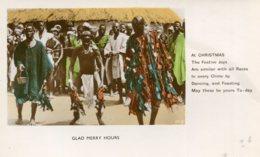 SIERRA LEONE - Glad Merry Hours - Cristmas Greetings - Good Ethnic - Unused Undivided Rear - Sierra Leona