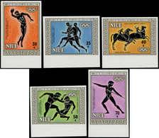** NIUE - Poste - 434/8, Non Dentelés, Bdf (tirage 150): Jeux Olympiques De Los Angeles 84 - Niue