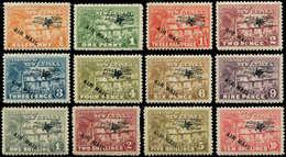 * NOUVELLE GUINEE GB - Poste Aérienne - 1/12, Très Frais, Surchargés Air Mail - Papouasie-Nouvelle-Guinée