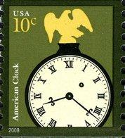 USA 2008 Scott 3763 Sello ** Reloj Americano 10c Estados Unidos United States Yvert 4086 Michel 4410 Stamps Timbre États - United States