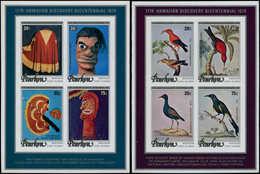 ** PENRHYN - Blocs Feuillets - 5/6, Non Dentelés: Hawaï, Oiseaux - Penrhyn