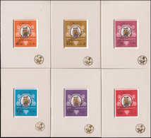 SPE QATAR - Poste - 348/401, Extraordinaire Série Complète De 13 Valeurs Imprimées D'origine Sur Une Marie-louise Non De - Qatar