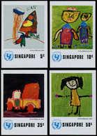 ** SINGAPOUR - Poste - 217/20, Non Dentelé (tirage 100): Unicef, Jour De L'enfant - Singapore (1959-...)