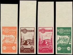 ** SYRIE REPUBLIQUE - Poste - 68/71, Non Dentelés, Couleurs Non émises, Bdf: Rotary 1955 - Syrië