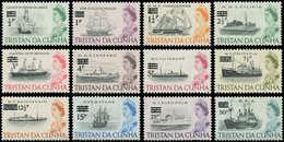 ** TRISTAN DA CUNHA - Poste - 141/52, Bateaux - Tristan Da Cunha