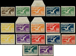 * URUGUAY - Poste Aérienne - 10/26, Albatros, Complet, 17 Valeurs - Uruguay